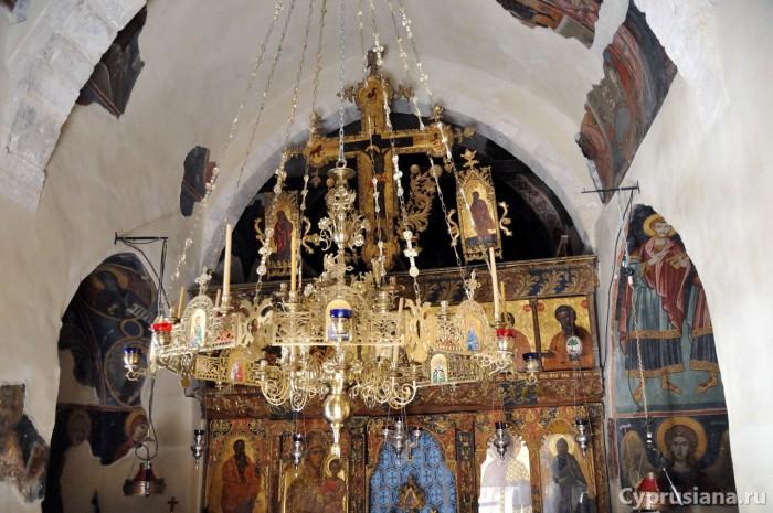 Иконостас монастыря Богородицы Амасгу