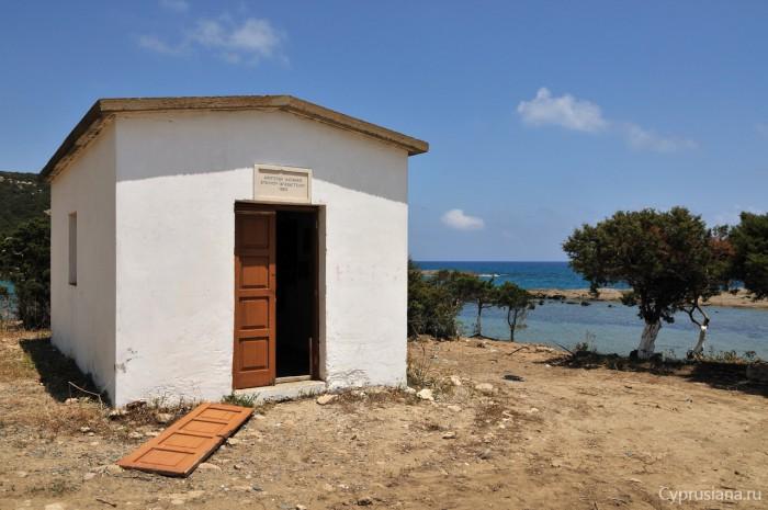 Церквушка на побережье