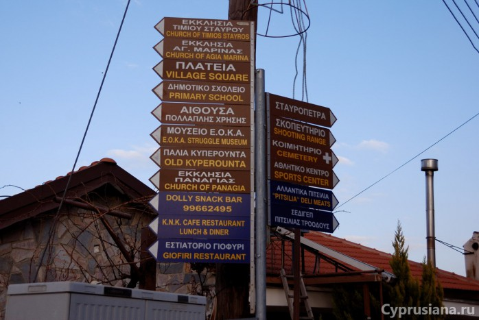 Точки интереса в Киперунте