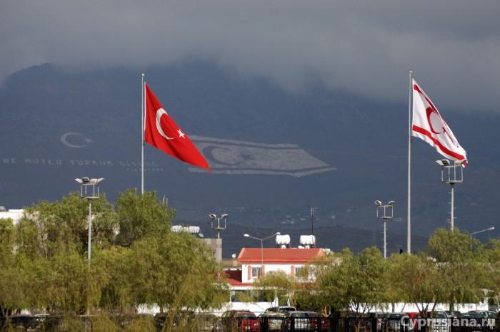 При въезде на северный Кипр