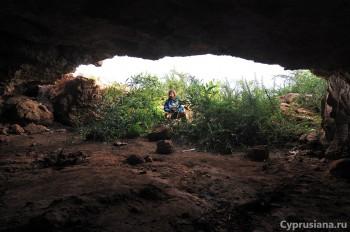 Фотосессия в пещере