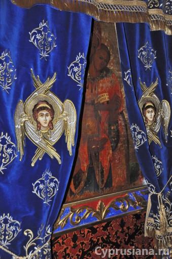 Икона Богородицы Сфалангиотиссы