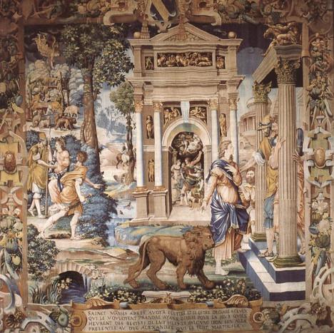 Гобелен 1541 года в собрании Лувра