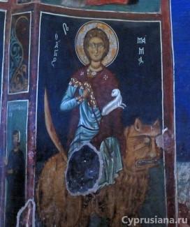 Церковь Панагия тис Асину в Никитари (слой 1332/1333 года)