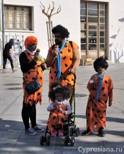 На улицах после Карнавала