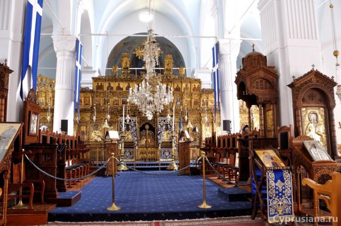 Иконостас церкви Богородицы Фанеромени