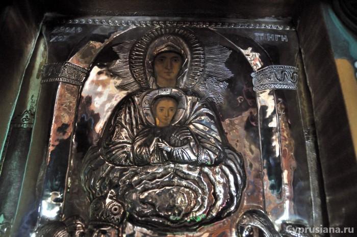 Икона Богородицы Глосса