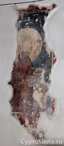 Фрески в церкви св. Созомена