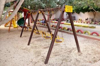 Аттракционы в парке