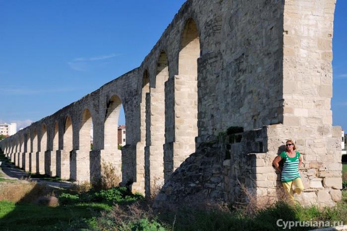 Лена у акведука Камарес