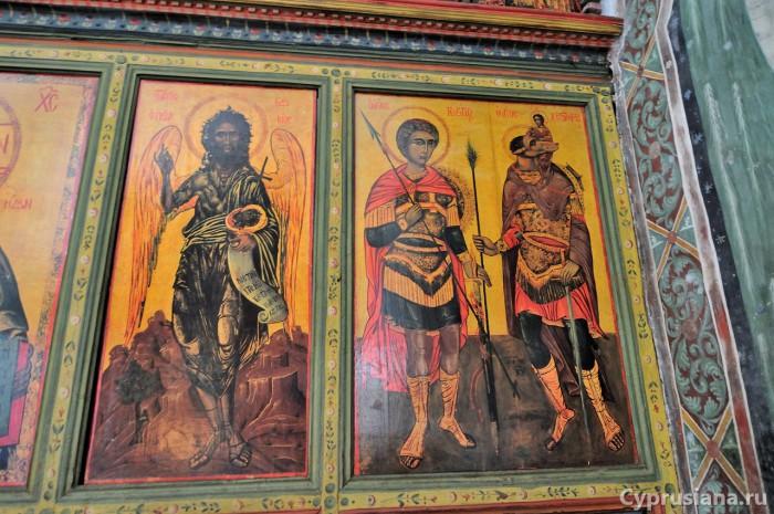 Святые Горгий и Христофор