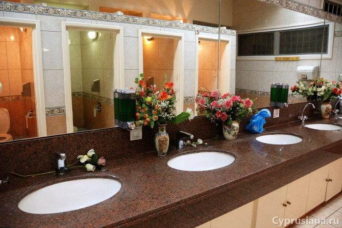 Туалет в Киккосе