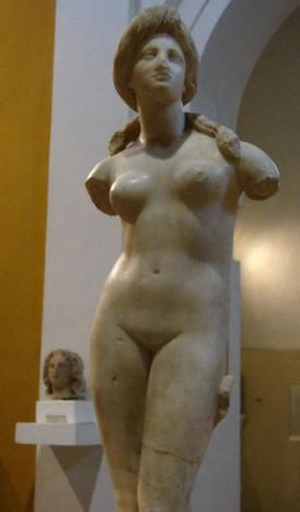 Статуя Афродиты из Музея археологии в Никосии
