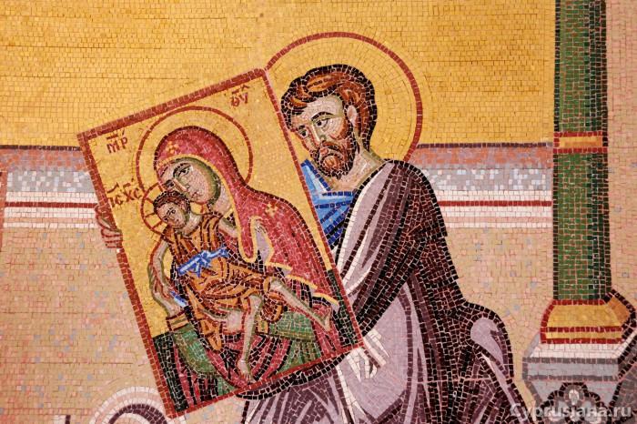 Апостол Лука с иконой