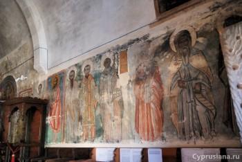 Фрески в церкви архангела Михаила