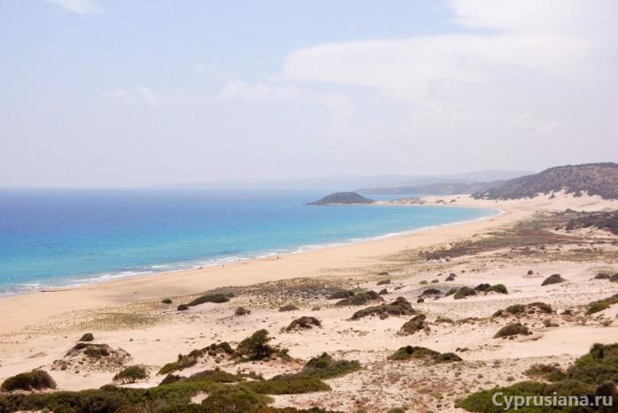 Золотой пляж Карпасии