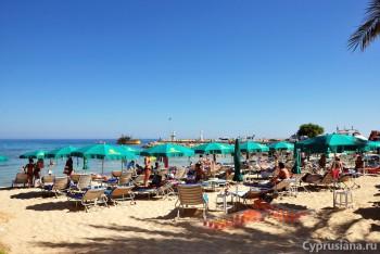 Муниципальный пляж Айя Напы