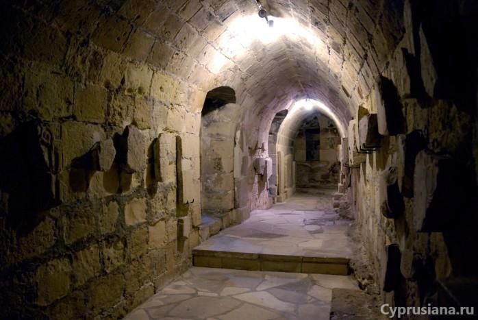 Внутри Средневекового замка