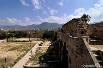 Вид со стены