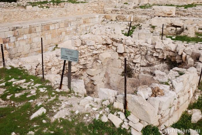 Раскопки в Аматусе
