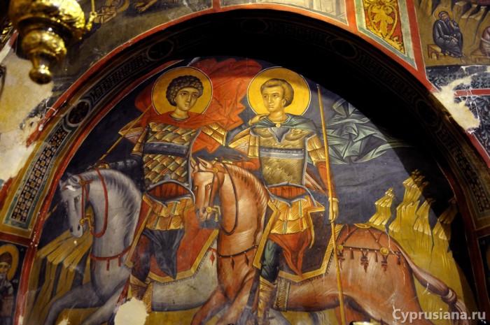 Святые Георгий и Димитрий