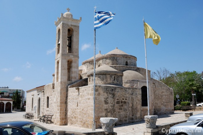 Церковь св. Параскевы. IX век