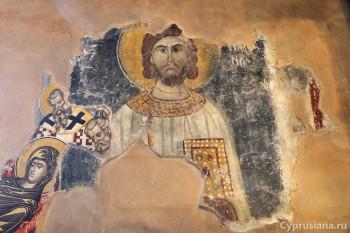 Фрески в церкви
