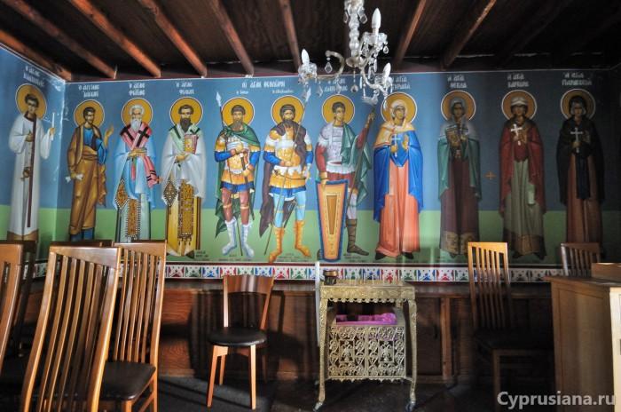Почитаемые святые Кипра