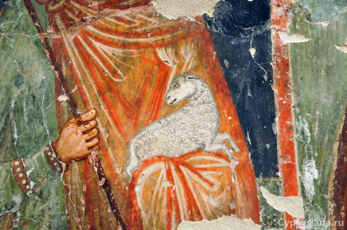 Церовь Архангела Михаила в Педулас (1474 год, художник Мина из Мирианфусы)
