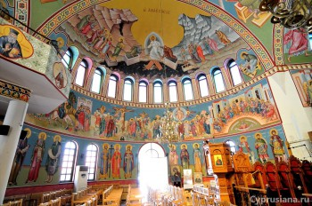 Росписи в церкви