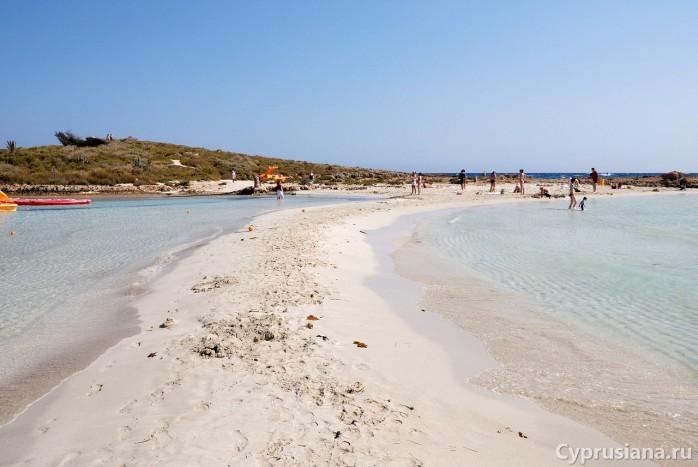 Айя-Напа, пляж Нисси