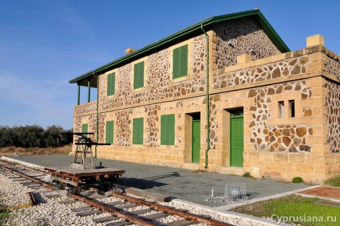 Бывшая жд станция Эвриху