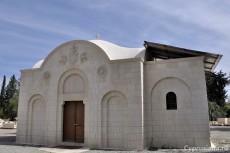 Строящийся храм Серафима Саровского