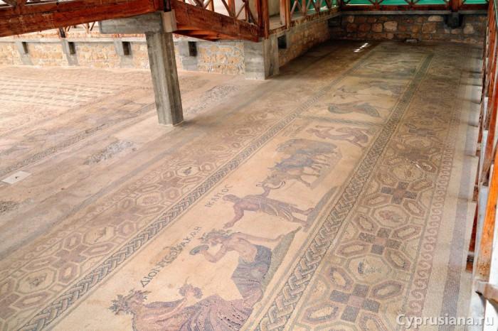 Мозаики в доме Диониса