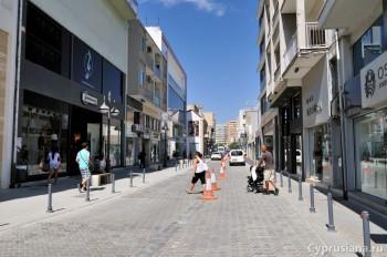 На торговой улице