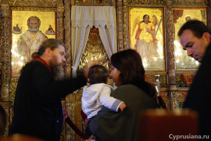 Икона Киприана в церкви Киприана