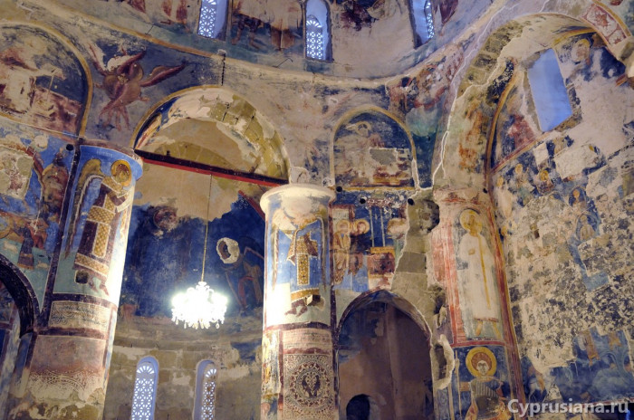 Росписи церкви Христа Антифонодиса в Калогреа. XII век