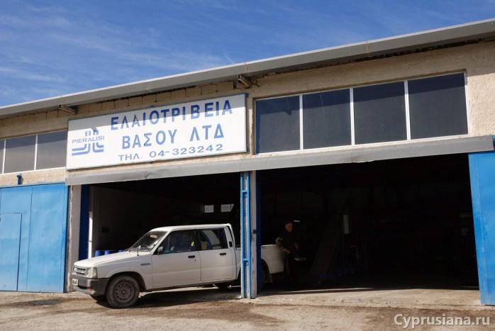 Ангар-фабрика