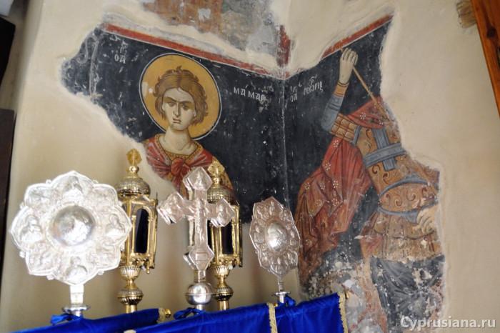 Церковь Панагия Амасгу возле Монагри (1564 год)