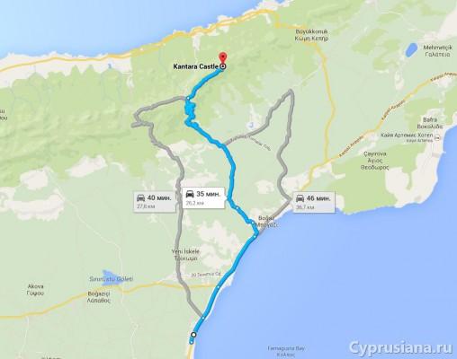Путь к Кантаре