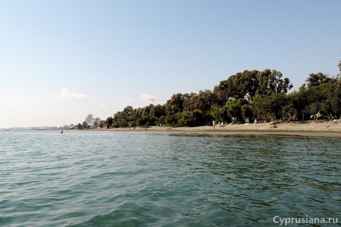 Вид на Дасуди с моря