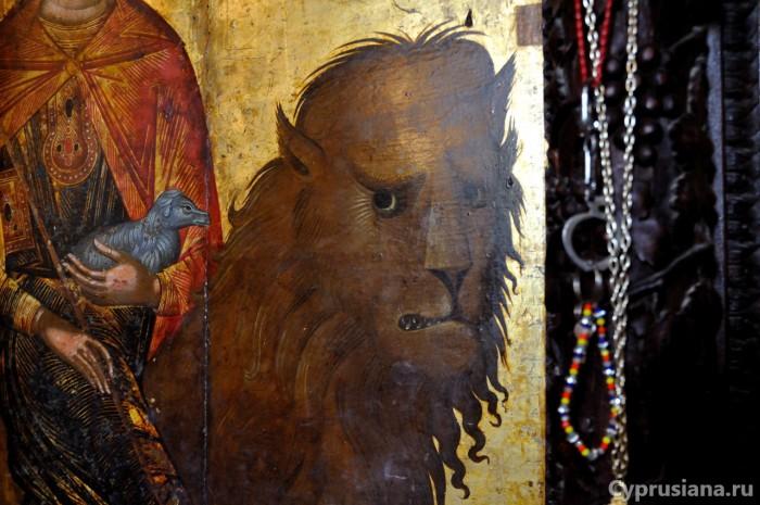 Мамант в Морфу. Лев и ягнёнок
