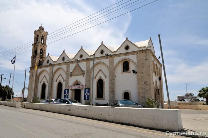 Церковь в Ormideia