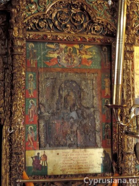 Икона справа от Царских врат