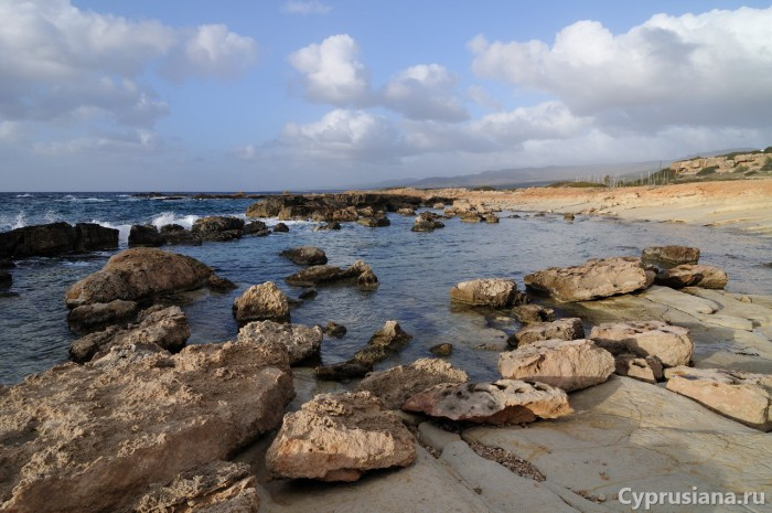 Морской пейзаж в районе мыса Дрепано