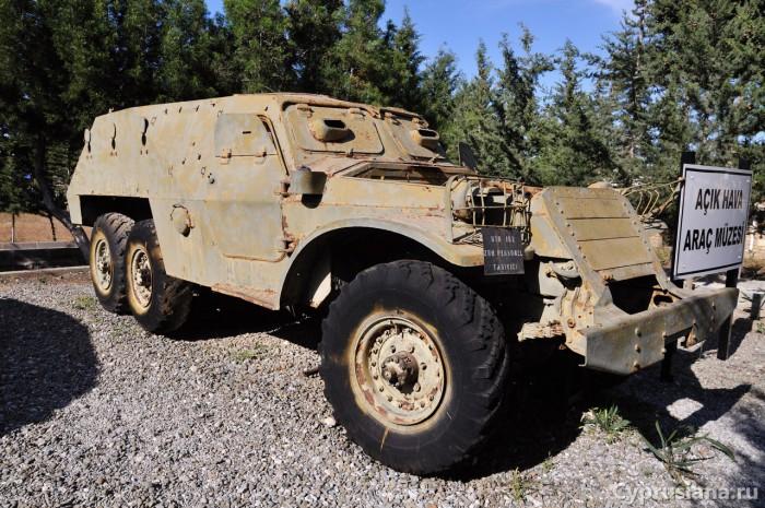 БТР-152 на северном Кипре