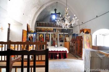 В церкви св. Кириаки