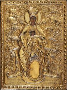 Икона Панагии Хрисоспилиотиссы