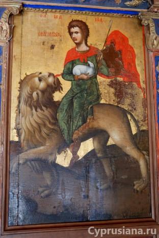 Икона св. Маманта