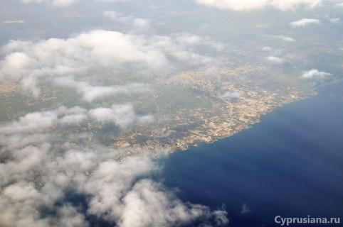 На подлёте к Кипру